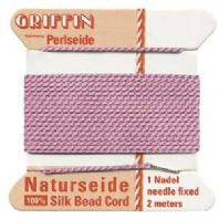 2M Griffin Silk Cord 0.98mm Bead Thread Pink Size 12